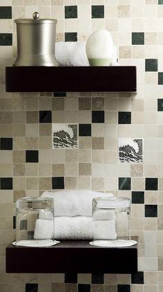 Wave Aluminum Accent Tiles   Great Britain Tile