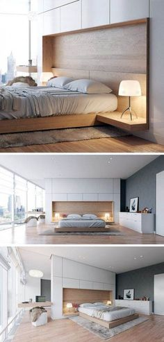 Bedroom Interior Design Trends for THIS YEAR! Tags: bedroom interior design, small bedroom desi - Great Home Decorations Bedroom Designs India, New Bedroom Design, Modern Master Bedroom, Modern Bedroom Decor, Small Bedroom Designs, Small Room Bedroom, Minimalist Bedroom, Bed Design, Interior Design Living Room
