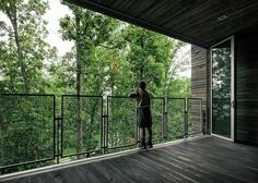 West Virginia treehouse hosts the American boy scouts' Jamboree #architecture #design #inspiration