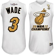 Dwyane Wade NBA Champs Jersey