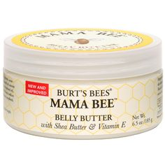 Burt's Bees Mama Bee Belly Butter : I SWEAR by this stuff. Used during both pregnancies. NO marks, and YES it's in my genes as my mother and sister both got them...