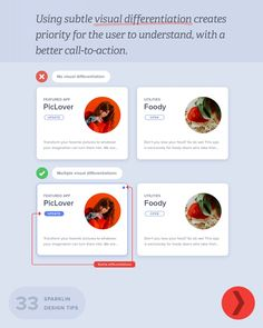 'Sparklin Design Tips' is a series of short, useful UI/UX tips by New Delhi-based digital agency Sparklin, shared every Tuesday on their social media Ui Ux Design, Ui Design Mobile, Web Design Tools, User Interface Design, Tool Design, Mobile Ui, Clean Design, Ux Design Principles, Web Design Tutorial