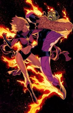 Ms Marvels Transformation Into Binary Captain Marvelms Marvel
