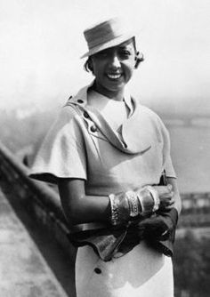 Josephine Baker was and still is an awesome inspiration to me...(thx u Vintage Black Glamour)