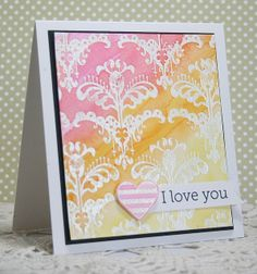 watercolor love | Flickr - Photo Sharing! CL511 Sweet Threads Thank You set