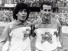Maradona & Julio Alberto. No Drug.