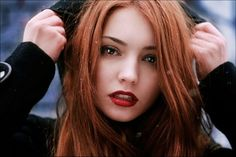 ... pale skin red lipstick dora lovey Best Colors of Lipstick for Redheads