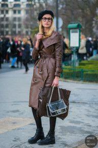 Paris Fashion Week Fall 2017 Street Style: Nadja Bender and Catherine McNeil
