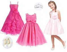 Cute little flower girl dresses, want one for your girl?