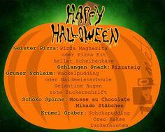 Happy Halloween #3 Rezepte
