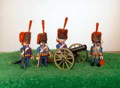 Napoleon's Guard Artillery - Playmobil Style 24 Feb. 2013