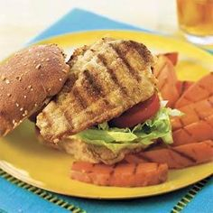 Cumin-Dusted Catfish Sandwiches   MyRecipes.com. Nothing weird, would be a nice new way to use up catfish.