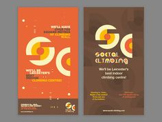 Social Climbing Opening Poster designed by MadeByStudioJQ. Indoor Climbing, Illustrations And Posters, Design Reference, Business Design, Wordpress Theme, Web Design, Flyers, Archive, Menu