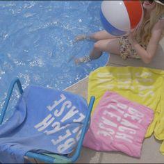 DIY Beach Towels