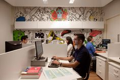 Escritório Maurício Queiroz –  Arquitetura e Design de Consumo #workspace #workstation