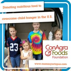 Taking action against childhood hunger in the US!  #FightHungerTogether