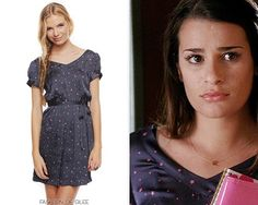 Forever 21 Starry Night Doll Dress - No longer available Worn with: Ryan Ryan necklace Glee Fashion, Rachel Berry, Berries, Forever 21, Short Sleeve Dresses, Doll, Night, My Style, Fashion Ideas