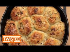 Cheesesteak Skillet Buns - Twisted