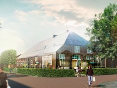 MVRDV: glass farm in the netherlands