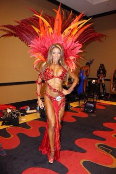 My Theme wear for WBFF Worlds Aug 2013