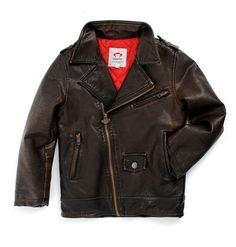Appaman Kids Boy's Midtown Moto Jacket (Toddler/Little Kids/Big Kids) Bitter Chocolate Outerwear 2 Toddler. Made in USA or Imported.