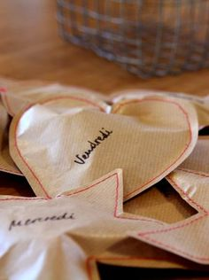 It's all about Hearts ♡ Very Merry Christmas, Christmas Is Coming, Diy Christmas Gifts, White Christmas, Christmas Time, Xmas, Advent Activities, Advent Calenders, Merry And Bright
