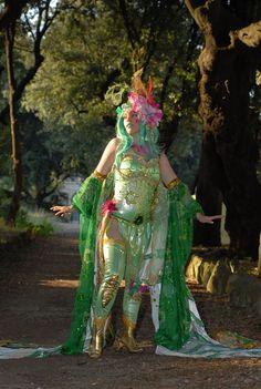 Videogame: Final Fantasy. Character: Rydia  Cosplayer: Giulia Presti 'aka' Ivy Cosplay. From: Italy. Event: Cartoomics 2010.