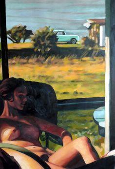 "Saatchi Online Artist: thomas saliot; Oil, Painting ""Summer end"""