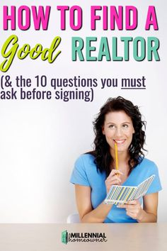 Finding a good realtor is tricky. Make sure you ask all of these questions and have the facts when you're looking for a good real estate agent. Learn how to create your own online business. Make money Fast and Easy.
