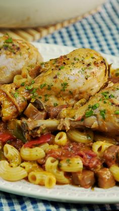 Chicken stew-Estofado de Pollo Add a delicious Pasta to your stew to make it perfect - Seafood Recipes, Cooking Recipes, Healthy Recipes, Chicken Drumstick Recipes, Chicken Recipes, Breakfast Recipes, Dinner Recipes, Plat Simple, Masterchef