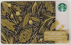Golden Tree Starbucks Card - Closer Look! Credit Card Design, Member Card, Vip Card, Golden Tree, Starbucks Gift Card, Layout Design, Digital Prints, Cis, Creative