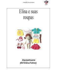 Amigurumi Elina y sus ropas