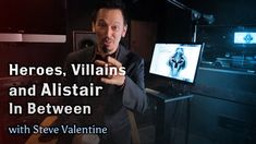 """Heroes, Villains, and Alistair in Between - With Steve Valentine - Haha.I like what he says at the end - """"I've seen them, don't think I haven't! Steve Valentine, Mass Effect, Dragon Age, Humor, Games, Band, Videos, Youtube, Sash"""