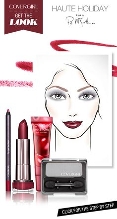 Play up your pout for a look that's gothic glam. Click to get the look.