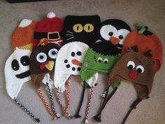 A Chick w/ Sticks: holiday hats