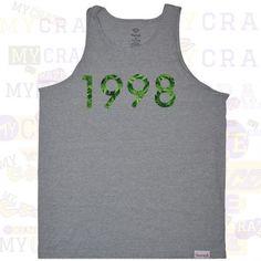 Diamond Supply Co 1998 Hemp Street Wear Rave Heather Singlet Tank Top Diamondsupplyco Graphictee