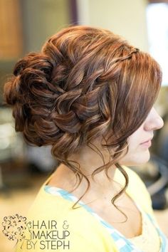 Prom hair(: by chiniitOs14