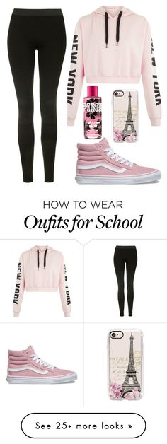 """Sydney Reed- School"" by jwpixie2230 on Polyvore featuring Vans, Topshop and Casetify"