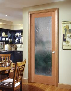 cast pantry decorative glass interior door - Glass Interior Doors