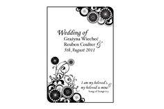 Wedding Program Design (www.avizadesign.com) Stationary Design, Wedding Stationary, Wedding Programs, Program Design, Graphics, Invitations, Graphic Design, Wedding Stationery, Stationery Design