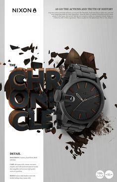 NIXON watches on Behance