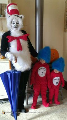 Dr. Seuss Homemade Costumes   fashion look from October