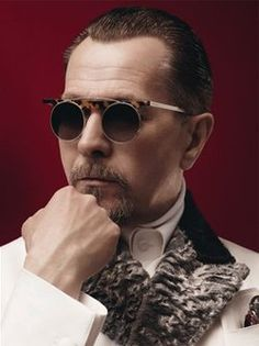 Gary Oldman, modeling for Prada menswear. You're welcome. And yes, StuntHusband, I know. You want ALL the clothes. Via americangothgirl and franzivy.