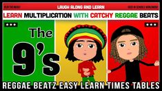 9 Times Table Song (Reggae Beatz) Learn to Fun & Catchy Songs! 9 Times Table, Reggae, How To Memorize Things, Songs, Math, Learning, Teaching Ideas, Youtube, Fun