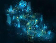 Blade Concept Art - Theme02. Mysterious Mine on Behance