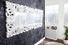 Dizajnové barokové Zrkadlo BAROQUE L SILVER. Home Design, Design Ideas, Deco Baroque, Diy Home Decor Projects, Elegant, Your Space, Oversized Mirror, Traditional, Wood