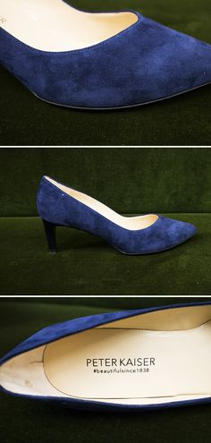 533b104c845f68 Der blaue Pump von Peter Kaiser vereint eine perfekt geformte Silhouette  und einen angenehmen Gehkomfort.
