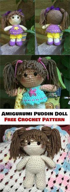 Mesmerizing Crochet an Amigurumi Rabbit Ideas. Lovely Crochet an Amigurumi Rabbit Ideas. Crochet Doll Pattern, Crochet Toys Patterns, Amigurumi Patterns, Crochet Dolls, Crochet Yarn, Doll Patterns, Crochet Decoration, Crochet Doll Clothes, Crochet Gifts