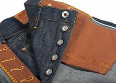 "Roy's New ""Big Brother"" Denim Preppy College, Denim Ideas, Jeans And Flats, Japanese Denim, Raw Denim, Classic Outfits, Sport Wear, Indigo, Menswear"