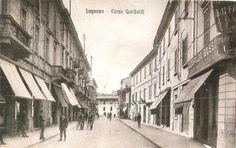 Legnano, Corso Garibaldi angolo Via Verdi, 1940
